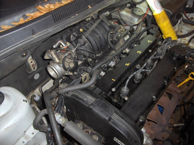 2005 Aveo 5-spd sedan - timing belt broke - being repaired ...