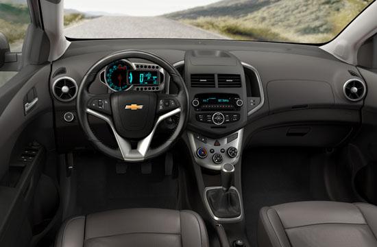 2012 Chevy Sonic Photos Interior And Exterior Gm Canada Source